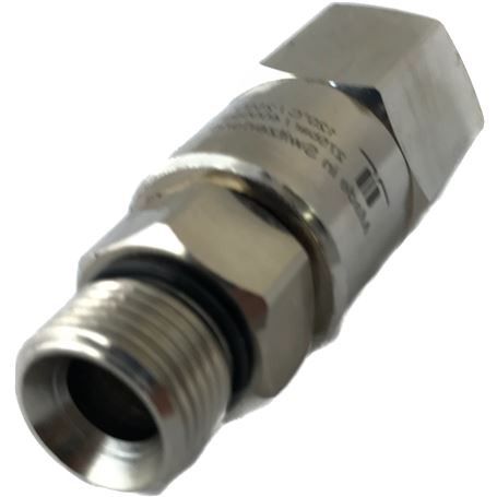 VALVULA ANTI-RETORNO INOX H.P. 450 BARS 1/2 FF